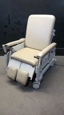 WINCO STRETCHAIR LB-675-SN POWER STRETCHER CHAIR WITH HAND CONTROL