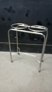 PEDIGO DUAL RING BASIN STAND