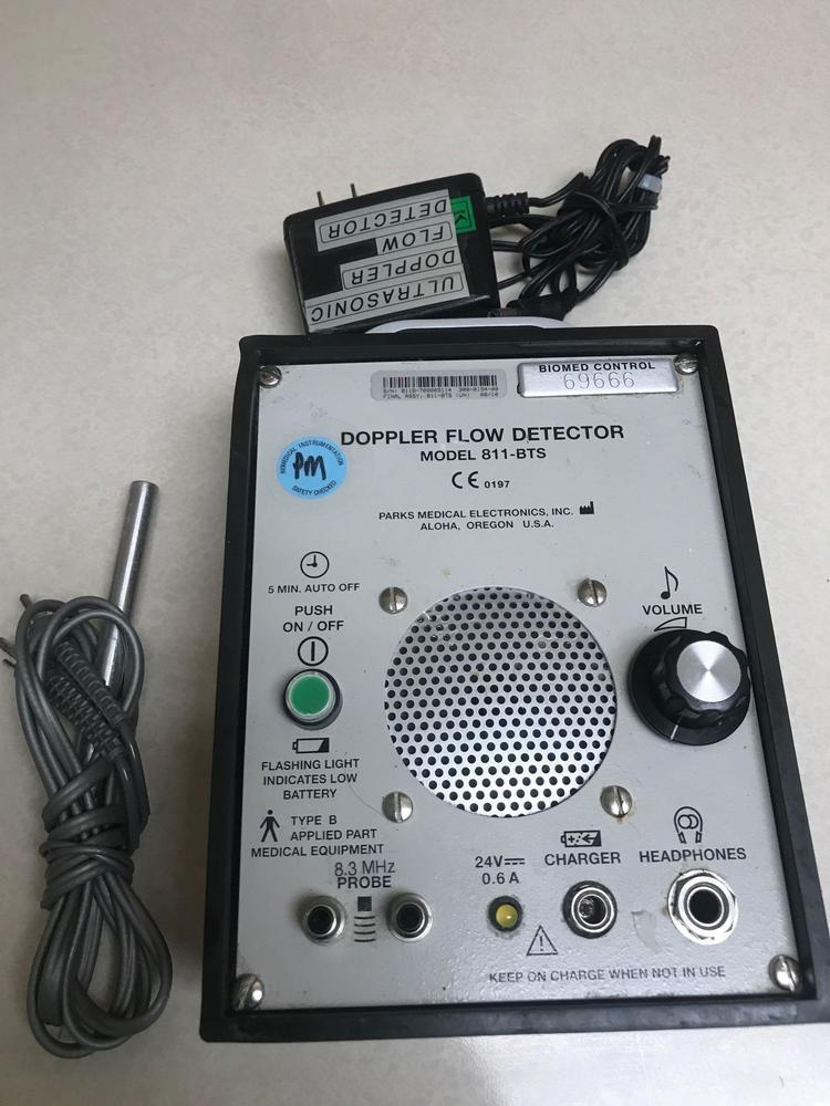 Parks 811 Bts Doppler Flow Detector With Probe And Charger